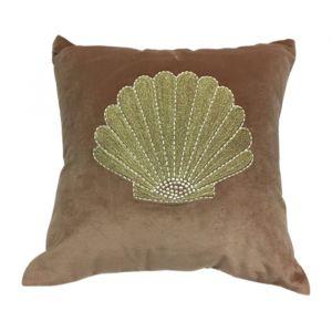 Kussen velvet embroidered shell À La