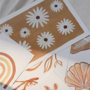Poster Daisy flowers A4 À La