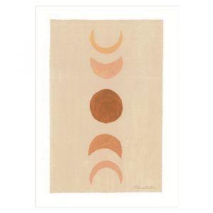Poster Moonphase A4 À La