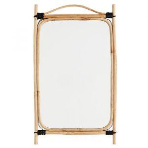 Bamboe spiegel rechthoek Madam Stoltz