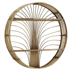 Rotan wandrek Sunshine rond naturel Madam Stoltz