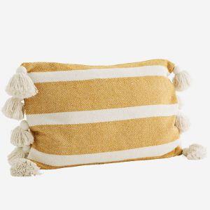 Kussenhoes Striped honey Madam Stoltz