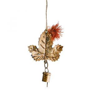 Kersthanger Leaf gold Madam Stoltz