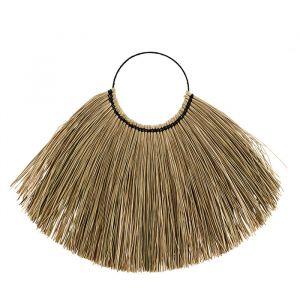 Wandhanger Seagrass brown/natural (110cm) Madam Stoltz