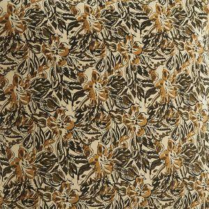 Speelmatras Leaves olive/mustard (60x100cm) Madam Stoltz