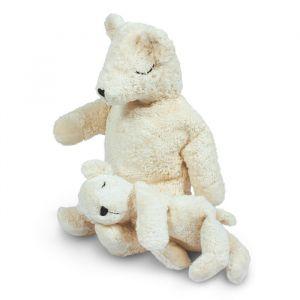Warmteknuffel ijsbeer klein wit Senger Naturwelt