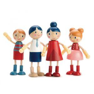 Houten poppenhuis poppenfamilie Tender Leaf Toys
