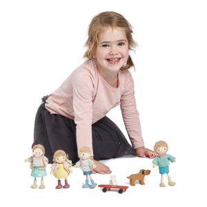 Houten poppenhuis popje Amy Tender Leaf Toys