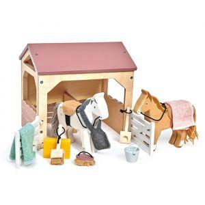 Houten paardenstal Tender Leaf Toys