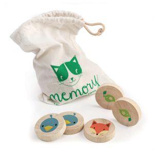 Memory dieren hout Tender Leaf Toys