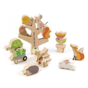 Houten stapelboom met dieren Tender Leaf Toys