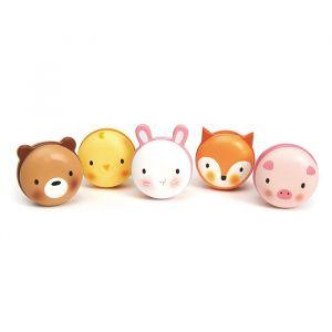 Houten macarons dieren Tender Leaf Toys