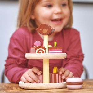 Houten bonbon etagere Tender Leaf Toys