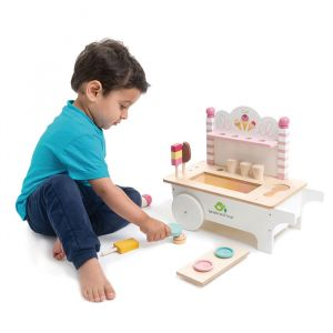 Houten ijsduwkar Tender Leaf Toys