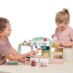 Houten koffiehuisje Tender Leaf Toys