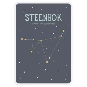 Sterrenbeeld mijlpaal bordje Steenbok Milestone