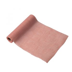 Tafelloper mousseline roze