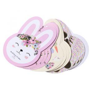 Stickers Flower Bunnies