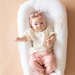 Dockatot babynest Deluxe+ Pristine White (Sleepyhead)