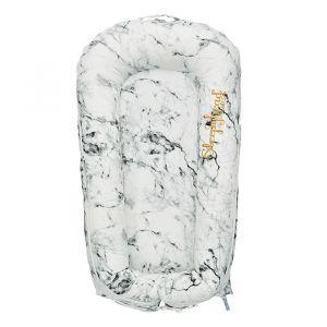 Sleepyhead babynest Deluxe+ Carrara Marble