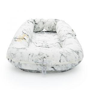 Sleepyhead babynest Deluxe+ cover Carrara Marble