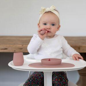 Siliconen drinkbeker Tiny Cup blush EZPZ