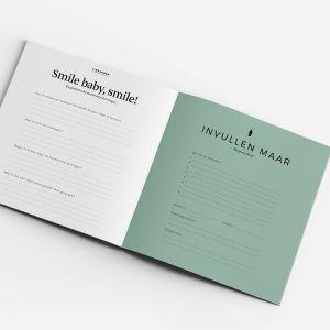 Invulboek Eerste jaar groen Leukigheidjes