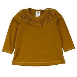 Shirt Ruffle Pesto Müsli