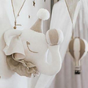 Dierenkop Circus Olifant beige Love Me Decoration
