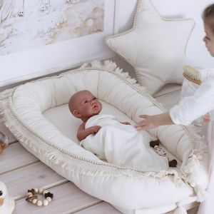 Babynest Boho vanilla Cotton & Sweets