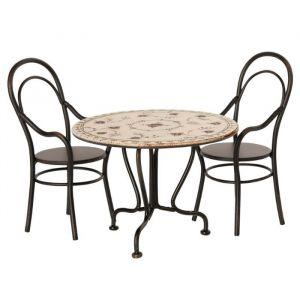 Eettafel met 2 stoelen Maileg