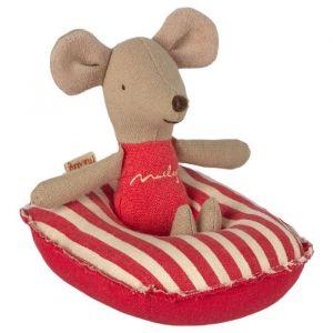 Miniatuur rubberboot red stripe (kleine broer/zus) Maileg