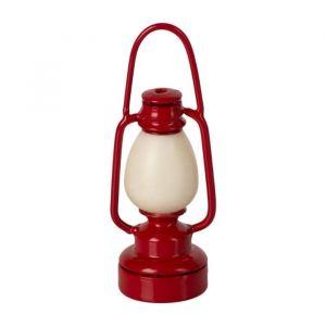 Miniatuur vintage lamp rood Maileg