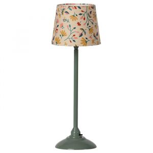 Miniatuur vloerlamp dark mint Maileg