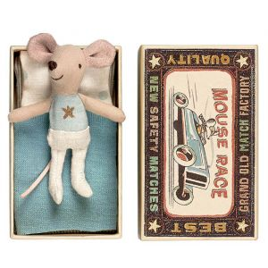 Kleine broer muis in doosje (micro) Maileg