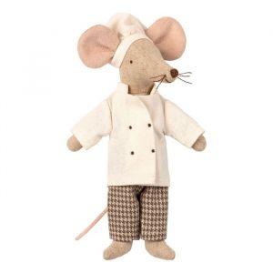 Chefkok muis (moeder/vader) Maileg