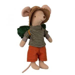 Hiker muis jongen (grote broer) Maileg