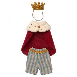 Koningkleding voor grote broer muis Maileg