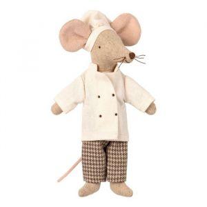 Chefkok kleding voor vader/moeder muis Maileg