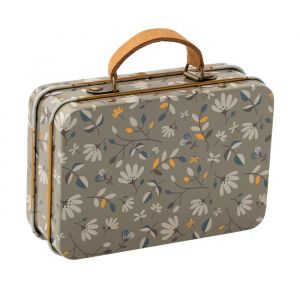 Metalen koffertje merle dark (7cm) Maileg