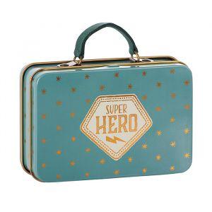 Metalen koffertje Super Hero (7cm) Maileg