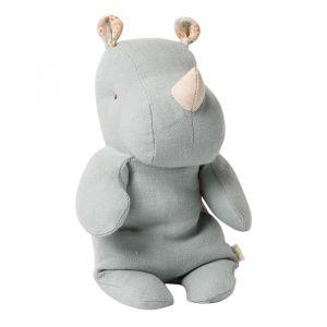 Knuffel nijlpaard blauw-grijs Safari Friends (small) Maileg