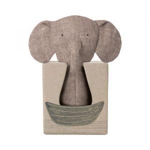 Rammelaar olifant Noah's Friends Maileg