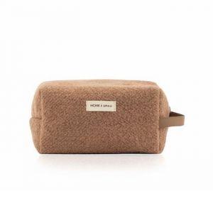 Toilettas wool cacao Monk & Anna