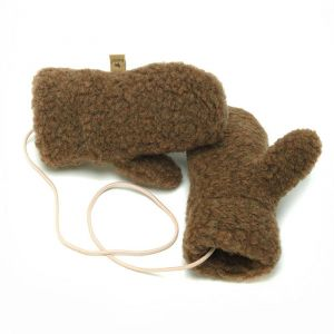 Kinderhandschoenen Gully Junior bark Alwero