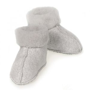 Slofjes Melo Baby light grey Alwero