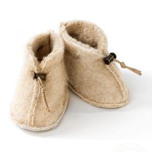 Slofjes Emo Wool beige Alwero