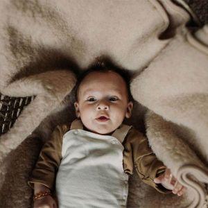 Babydeken Tumbler beige (75x100cm) Alwero