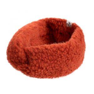 Hoofdband Coni wol brique Alwero