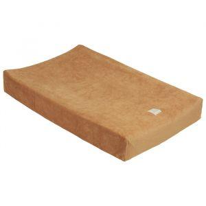 Aankleedkussenhoes rib velvet sand Nanami